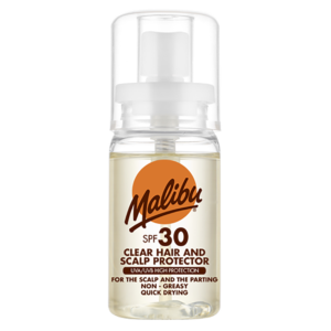 Malibu Clear Hair and Scalp Protector SPF 30