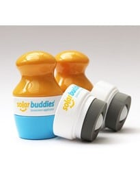 Solar Buddies Starter Pack 2 (2 Sunscreen Applicators and 2 Replacement Heads)